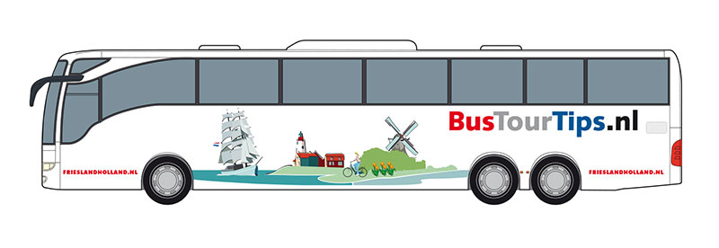 Bus Tour Tips, powered by Friesland Holland.