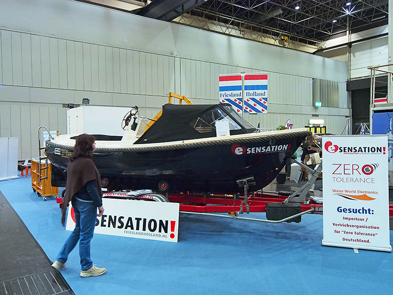 E-sensation op Boot 2014 in Düsseldorf.