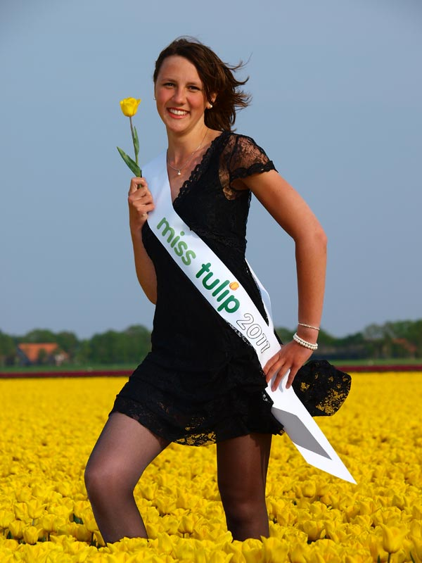 Miss Tulip 2011, Lianne Pit uit Oldemarkt.